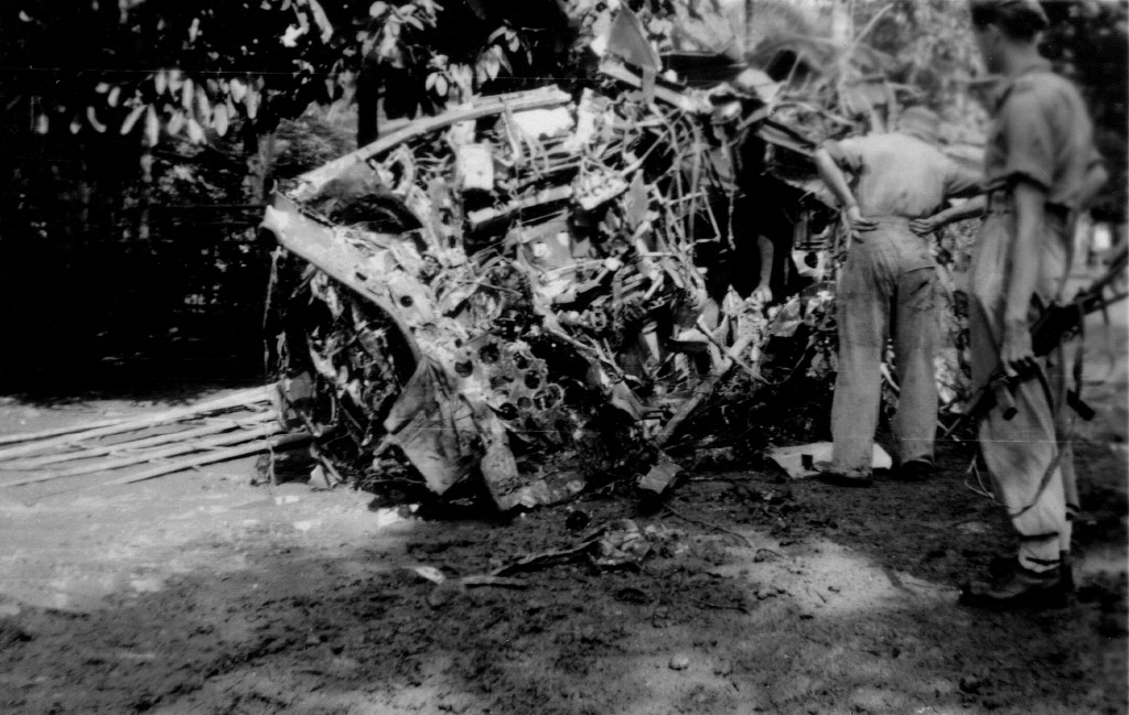 2-53 ongeluk Mitchell bommenwerpers Kroja juni 1949