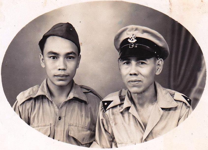 Boy Durand met zijn vader