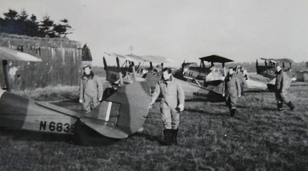 A-18 en de A-11 op Woensdrecht 1947