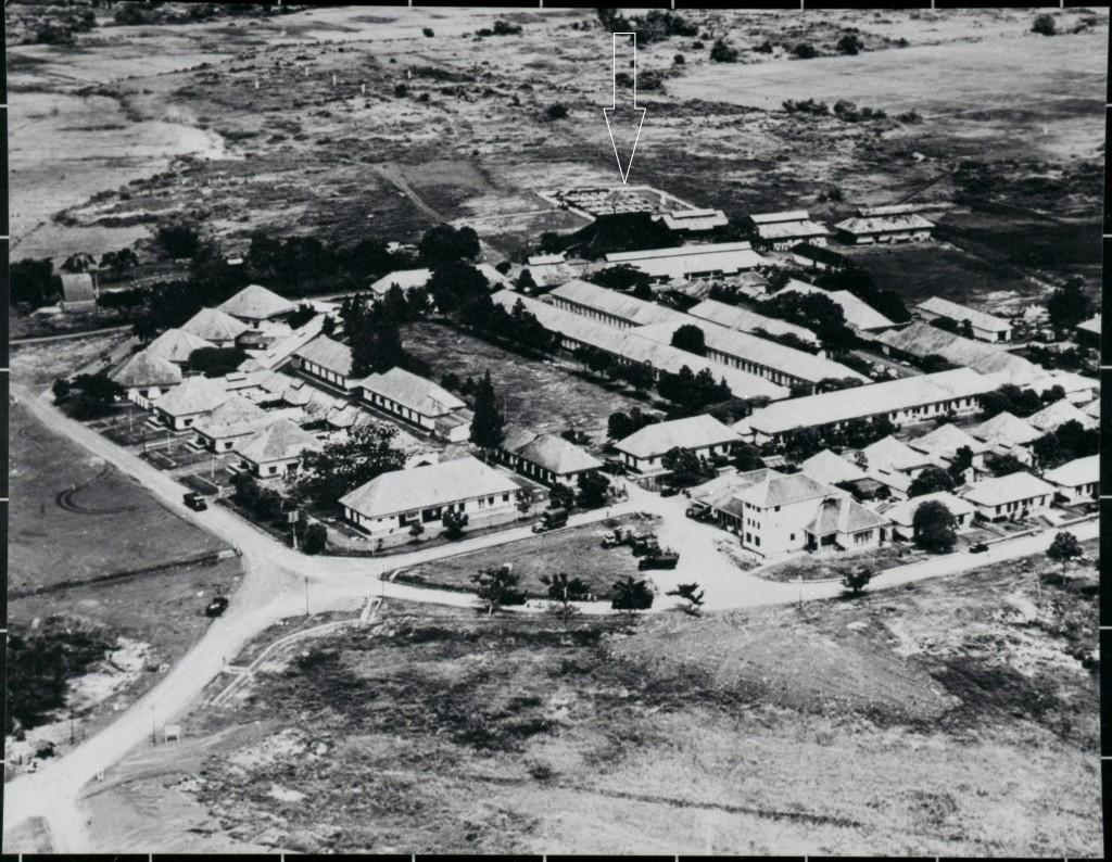 Kampement Tjililitan midden achter de begraafplaats - kopie - kopie