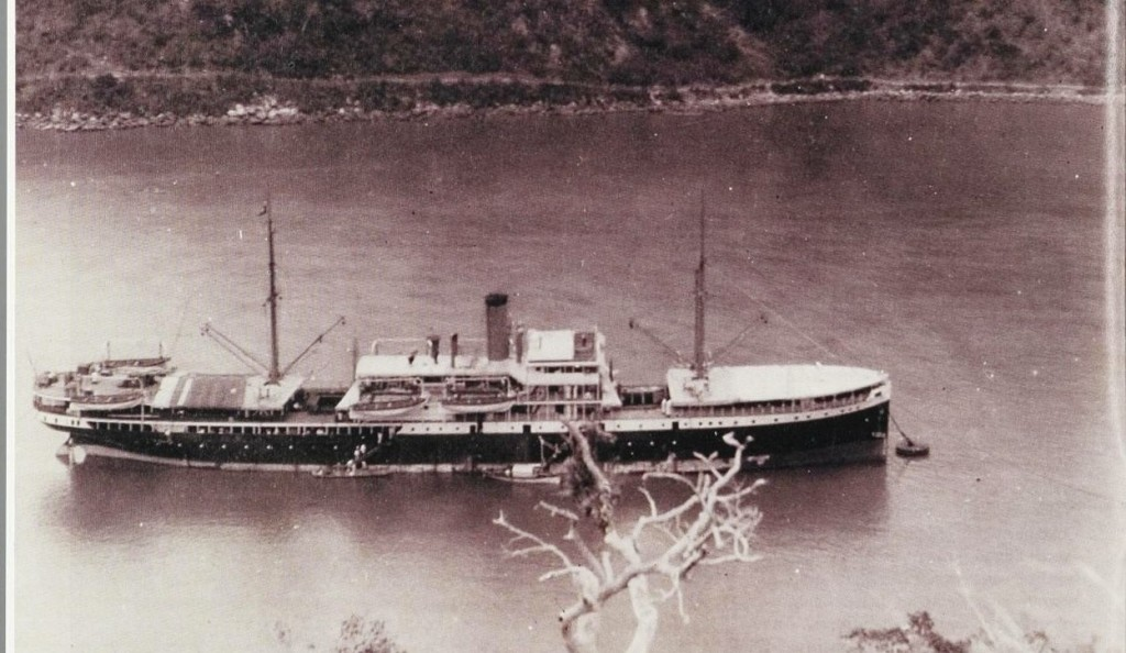 Het s.s. Sloet van de Beele een K.P.M. een parket schip.