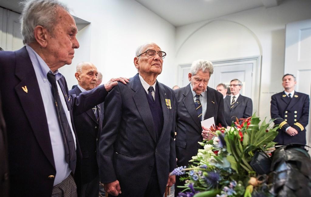 Herdenking Slag om de Javazee in Kloosterkerk