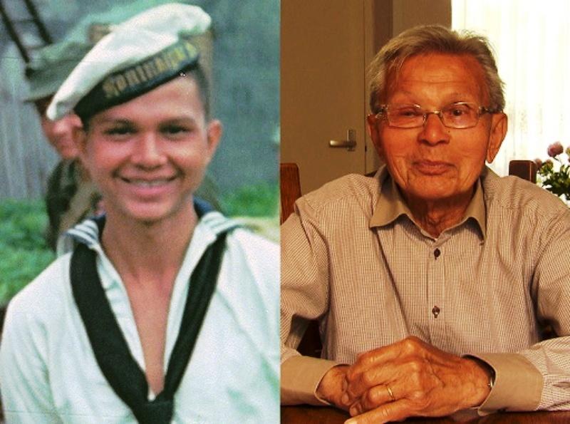 Henk Kleijn 1945 en 2015 (002)
