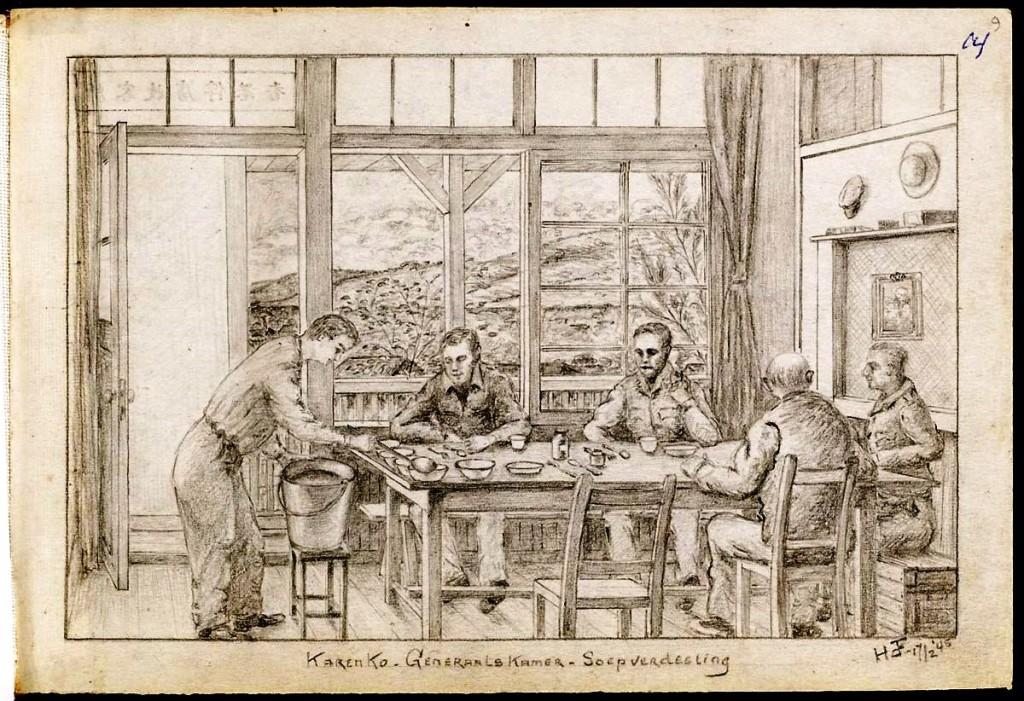 Karenk, Generaalskamer soep-verdeling