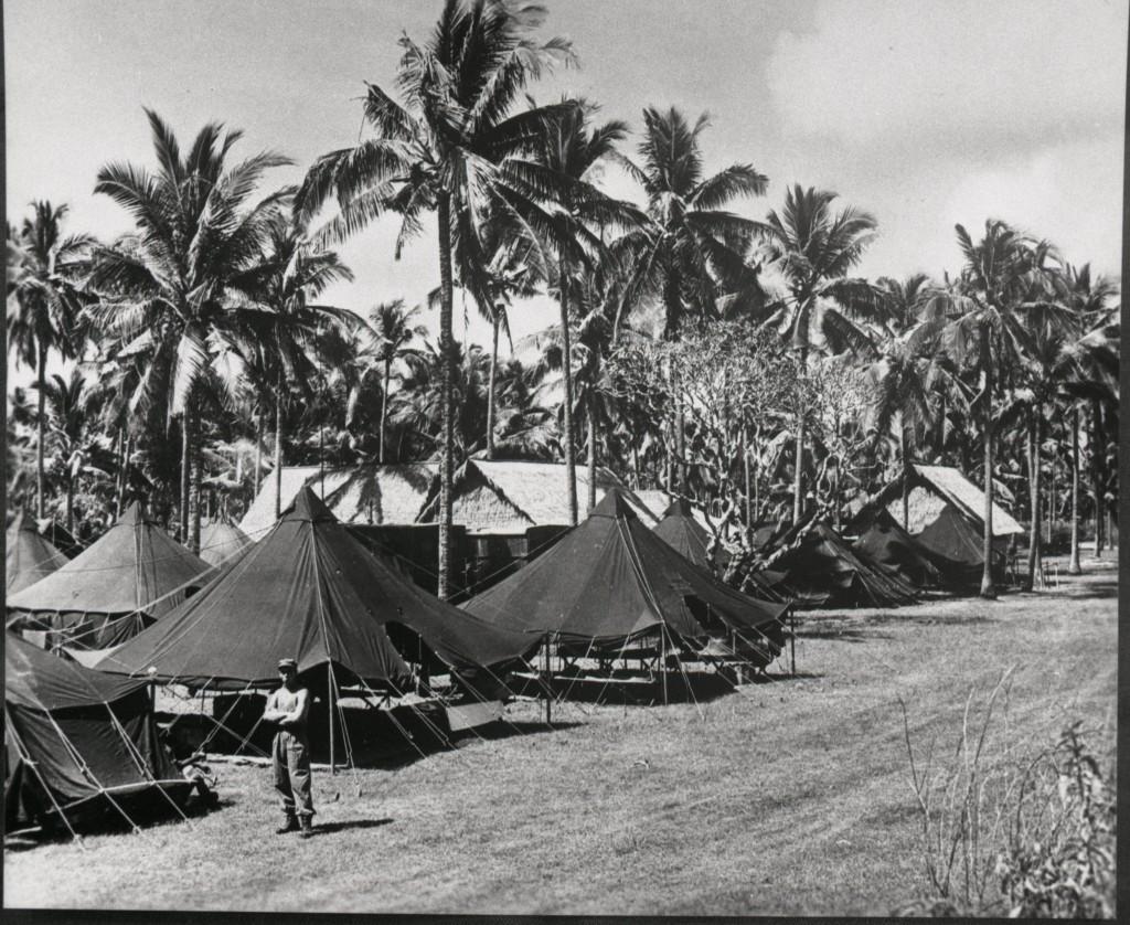 Het kampement werd ook altijd onderhouden