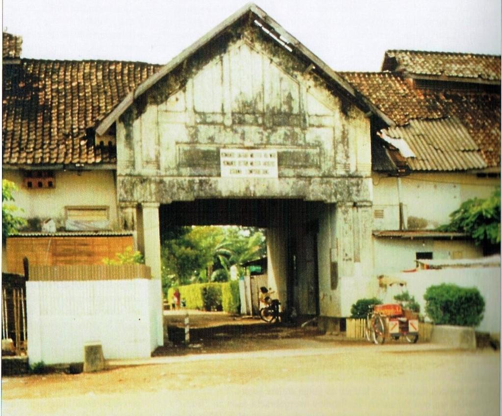 Makassar Hoofdpoort van het KNIL-infanteriekampement