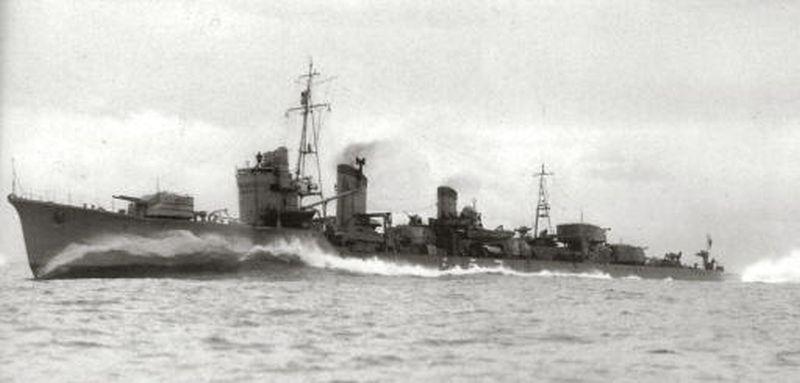 Torpedobootjager Hatsukaze