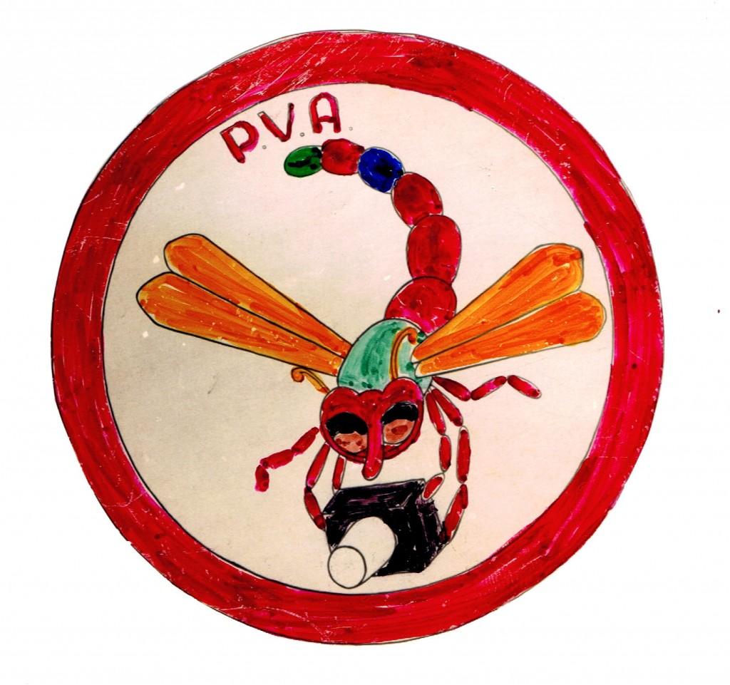 2e Embleem van de P.V.A.