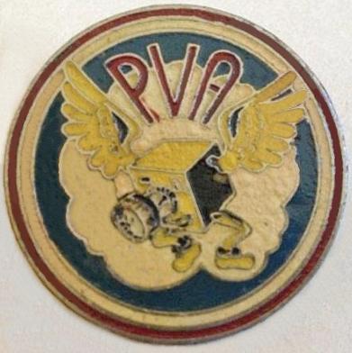 1e Embleem van de P.V.A.