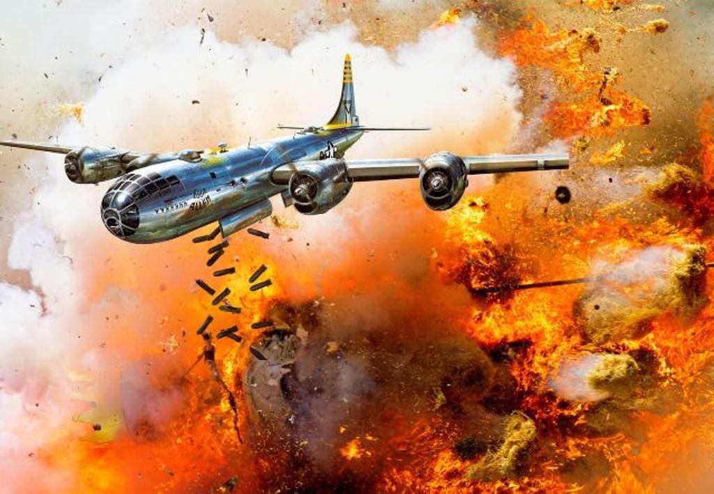 Tokio werd gebombardeerd met brandbommen 9 maart 1945