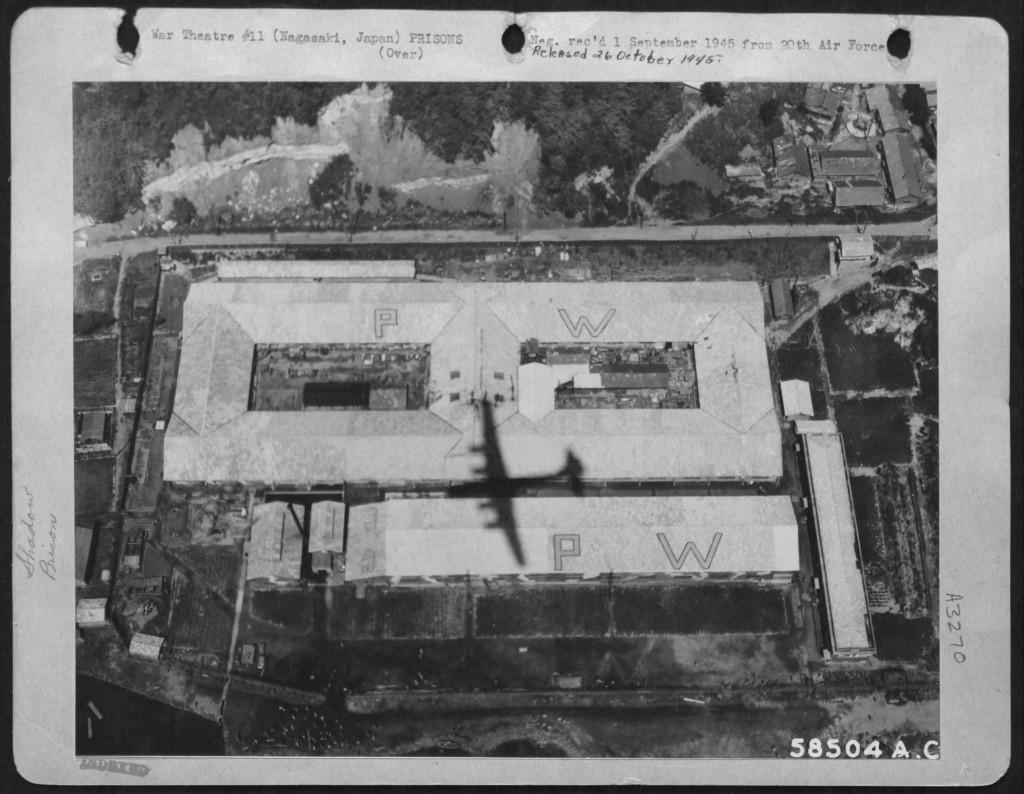 Kamp Nagasaki Fukuoka 2B op 1 september 1945