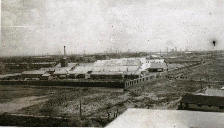 Hoten P.O.W. Camp Moekden Manchukuo