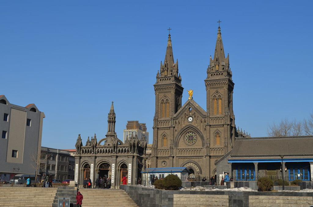 Sacred_Heart_Cathedral_of_Shenyang ( Mukden)