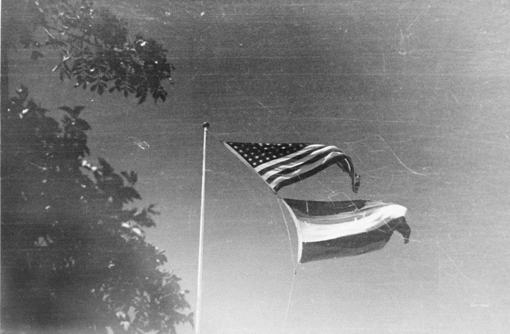 Amerika / Nederland Vlag